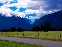 新西兰的美好的风景 库存图片