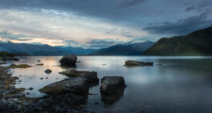 新西兰的风景 免版税库存图片