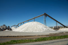新西兰盐厂 免版税库存照片