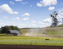 新西兰种田 库存图片