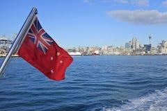 新西兰红色少尉 库存照片
