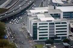 新西兰航空公司总部在奥克兰新西兰NZ 库存图片