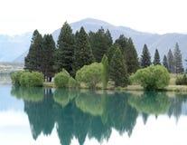 新西兰风景惊人的风景视图  库存照片