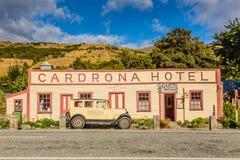 新西兰,南岛, Cardrona, Cardrona旅馆:02/02/16 库存图片