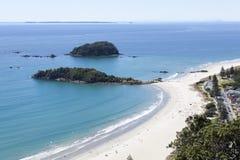 新西兰` s海滩 免版税库存照片