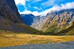 新西兰Fiordland 库存照片