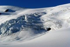 新西兰St约瑟夫冰川 免版税库存照片