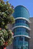 新西兰Te爸爸Tongarewa博物馆大厦的细节 免版税库存照片