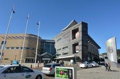 新西兰Te爸爸Tongarewa博物馆  免版税库存照片