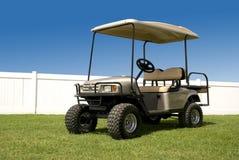 新购物车的高尔夫球 库存图片