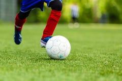 新足球运动员 免版税库存照片