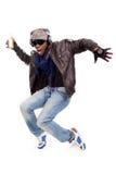 新跳舞的人 免版税库存照片