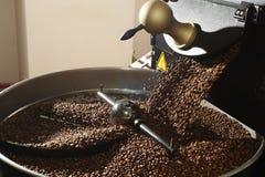 新近地烤的豆咖啡 免版税库存照片