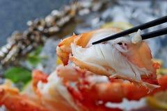 新近地煮熟的龙虾 免版税库存照片