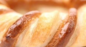 新近地被烘烤的花梢椒盐脆饼。 免版税图库摄影