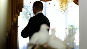 新郎结婚 股票视频
