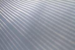 新长的影子雪纹理 库存图片