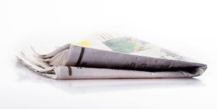 新闻纸张 免版税库存照片