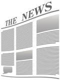 新闻 免版税图库摄影
