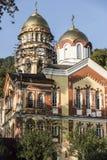 新阿丰的寺庙的恢复 免版税库存图片