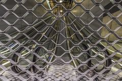 新阿母斯特丹关闭了地铁电梯 免版税图库摄影
