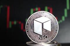 新隐藏货币在其他硬币中-未来的数字货币 库存照片