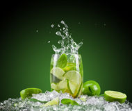 新饮料 免版税库存图片