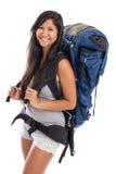 新马来西亚背包徒步旅行者 库存照片