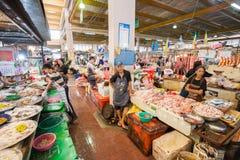 新鲜市场,普吉岛镇 库存照片