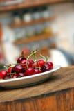 新鲜开胃的樱桃 图库摄影