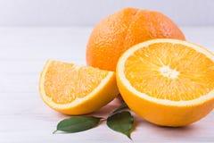 新鲜橙色成熟 图库摄影
