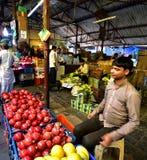 新鲜水果和veg显示  库存照片