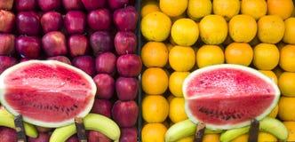 新鲜水果当纹理背景 图库摄影