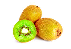 新鲜水果查出的猕猴桃 库存图片