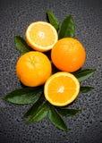 新鲜水果桔子 库存照片