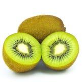 新鲜水果猕猴桃部分 免版税库存图片