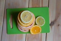 新鲜水果表 库存图片