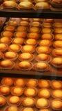 新鲜烤蛋馅饼 库存图片