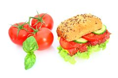 新鲜的三明治 图库摄影