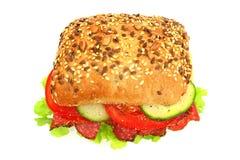 新鲜的三明治 库存照片