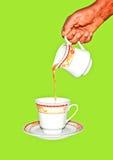 新鲜的举世闻名的锡兰红茶 免版税库存图片