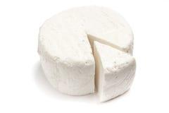 新鲜的乳清干酪乳酪 免版税库存图片