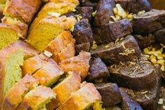 新鲜的俄国面包 手工制造 库存照片