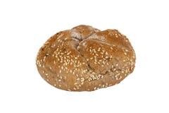 新鲜的全麦的卷面包 免版税图库摄影