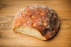 新鲜的切的面包 免版税图库摄影