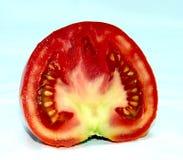 新鲜的半蕃茄 免版税库存照片