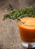 新鲜的南瓜和的红萝卜 库存图片