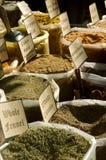 新鲜的印地安香料 库存照片