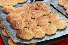 新鲜的印第安饼干 免版税库存照片