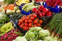 新鲜的各种各样的蔬菜 免版税库存照片
